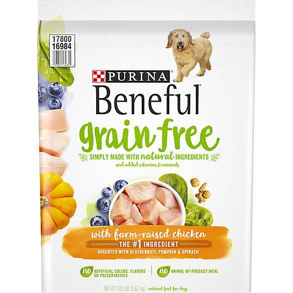 beneful dog food serving size