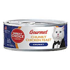 Grreat Choice® Gourmet Cat Food - Chunky Chicken Feast