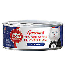 Grreat Choice® Gourmet Cat Food - Tender Beef & Chicken Feast