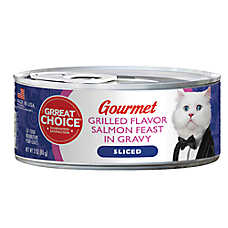 Grreat Choice® Gourmet Cat Food - Grilled Salmon Feast