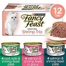 Fancy Feast® Pate Shrimp Trio Variety Pack Cat Food