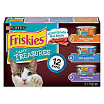 Purina® Friskies® Tasty Treasures Accented with Real Bacon Variety Pack Cat Food