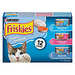 Purina® Friskies® Saucy Seafood Variety Pack Cat Food
