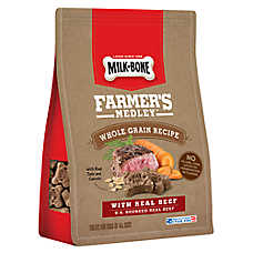 Milk-Bone® Farmer's Medley Dog Treat - Beef