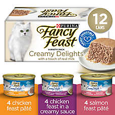 Fancy Feast® Pate Creamy Delights Variety Pack Cat Food