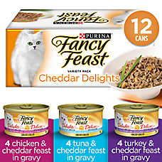 Fancy Feast® Grilled Cheddar Delights Variety Pack Cat Food