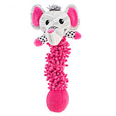 "Puppies""R""Us™ Elephant Bungee Noodle Dog Toy - Plush"