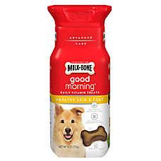 Milk-Bone® Good Morning Daily Vitamin Dog Treat - Healthy Skin & Coat