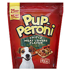 Pup-Peroni® Dog Treat - Triple Meat Lovers