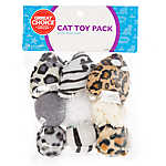 Grreat Choice® Animal Print 9-Pack Cat Toy Pack