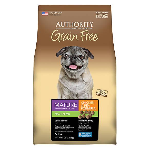 Authority Grain Free Dog Food Ingredients