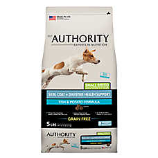 Authority® Skin, Coat + Digestive Health Small Breed Adult Dog Food - Grain Free, Fish & Potato