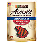 Simply Nourish™ Accents Cat Food Topper - Natural, Grain Free, Gravy with Lamb
