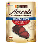 Simply Nourish™ Accents Cat Food Topper - Natural, Grain Free, Gravy with Beef