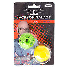 Jackson galaxy dice ball cat toy cat balls chasers for Jackson galaxy pet toys