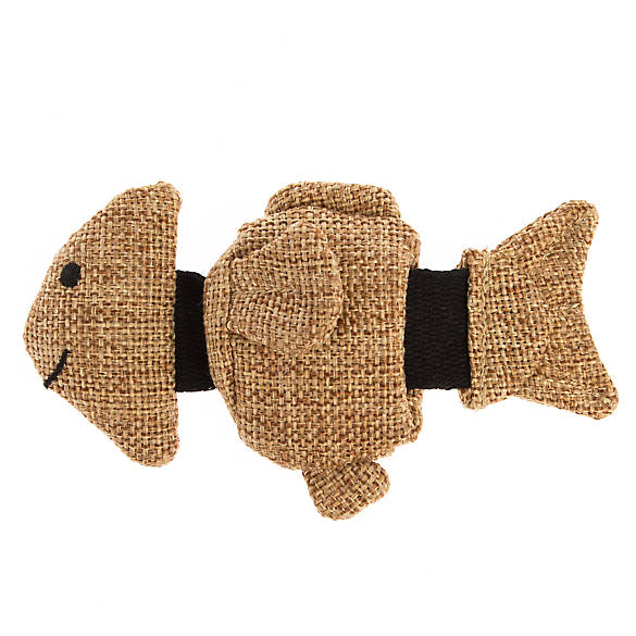 Jackson galaxy marinater sliding fish cat toy catnip for Jackson galaxy petsmart