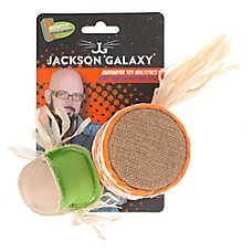 Jackson Galaxy® Marinater Drum & Ball Cat Toy - Catnip