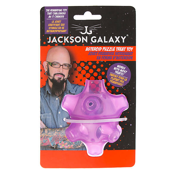 Jackson galaxy asteroid puzzle treat cat toy cat for Jackson galaxy shop