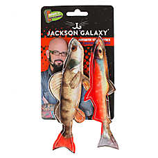 Jackson Galaxy® Marinater Photo Fish Cat Toys - 2 Pack