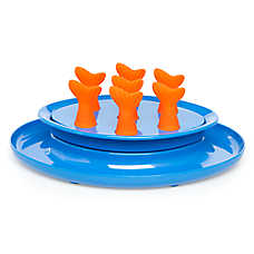 Jackson Galaxy® Go Fish Puzzle Bowl Cat Toy