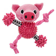 "Puppies""R""Us™ Pig Noodle Dog Toy - Plush"