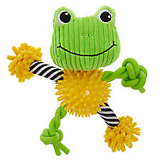 "Puppies""R""Us™ Frog Noodle Dog Toy"