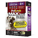 PetLock® MAX Flea & Tick Treatment for Dogs 21-55 Lbs