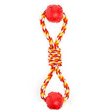 Top Paw® Knotted Rope with Balls Dog Toy