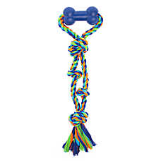 Top Paw® Rope Tug with Bone Handle Dog Toy