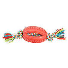Top Paw® Dino Rope with Football Dog Toy