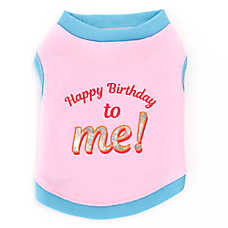 "Top Paw® ""Happy Birthday to Me!"" Pet Tee"