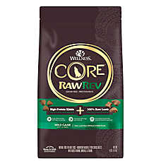 Wellness® CORE® RawRev Adult Dog Food - Natural, Grain Free, Freeze Dried Raw, Wild Game
