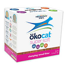 Okocat Super Soft Clumping Wood Cat Litter - Natural