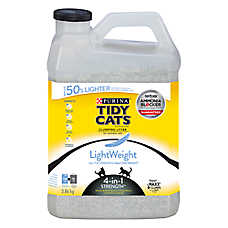 Purina® TIDY CATS® LightWeight 4-in-1 Stregth™ Cat Litter - Clumping, Multiple Cats