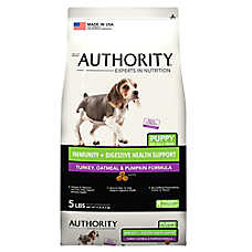 Authority® Immunity + Digestive Health Support Puppy Food - Turkey, Oatmeal & Pumpkin