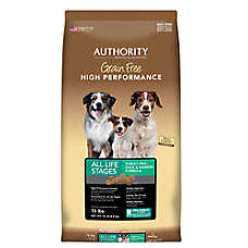 Authority® Grain Free High Performance Dog Food - Turkey, Pea, Duck & Salmon