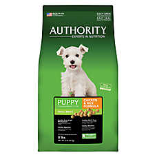 Authority® Small Breed Puppy Food - Chicken & Rice