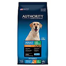 Authority® Large Breed Adult Dog Food - Lamb & Rice