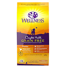 Wellness® Complete Health Puppy Food - Natural, Grain Free, Chicken, Chicken & Salmon Meal