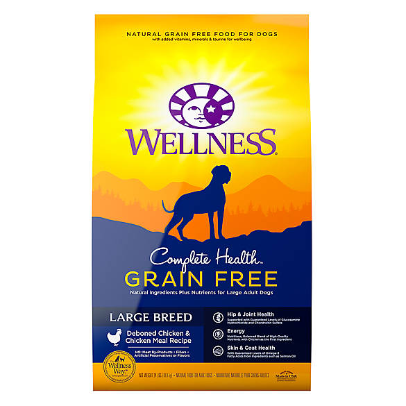 Wellness 174 Complete Health Large Breed Adult Dog Food