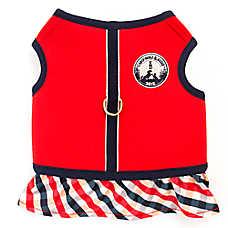 ED Ellen DeGeneres Camp Skirt Dog Harness
