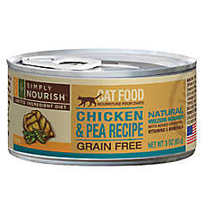 Simply Nourish™ Limited Ingredient Diet Adult Cat Food - Natural, Grain Free, Chicken & Pea
