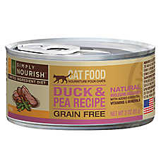 Simply Nourish™ Limited Ingredient Diet Cat Food - Natural, Grain Free, Duck & Pea