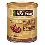 Simply Nourish™ Limited Ingredient Diet Dog Food - Natural, Grain Free, Venison & Sweet Potato