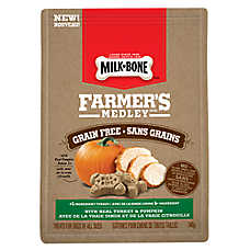 Milk-Bone® Farmer's Medley Dog Treat - Grain Free, Turkey & Pumpkin