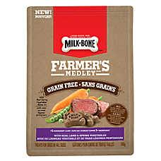 Milk-Bone® Farmer's Medley Dog Treat - Grain Free, Lamb & Vegetables