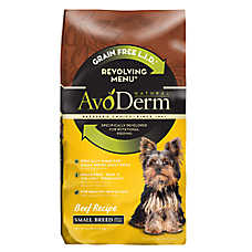 AvoDerm® Natural Revolving Menu Small Breed Dog Food - Grain Free, Limited Ingredient, Beef