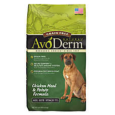 AvoDerm® Natural Dog Food - Grain Free, Chicken Meal & Potato