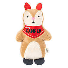 ED Ellen DeGeneres Squirrel Dog Toy - Plush, Teether