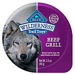 BLUE Wilderness® Trail Trays Small Dog Food - Natural, Grain Free, Beef Grill